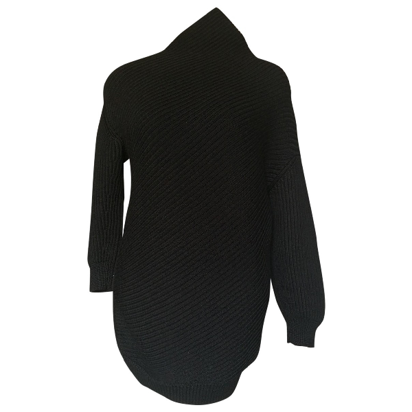 Jil Sander Black Wool Knitwear