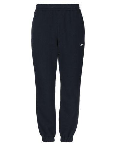 Msgm Pantalone/pants In Dark Blue