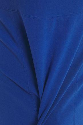 Halston Cady Dress In Cobalt Blue