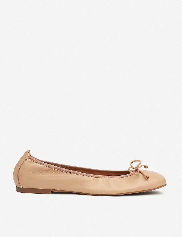 Lk Bennett Trilly Patent-leather Ballerina Flats