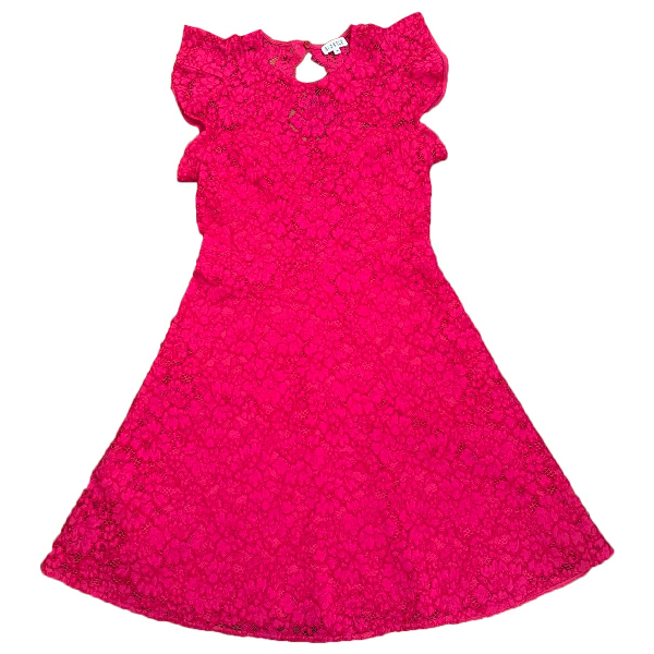 Claudie Pierlot Spring Summer 2019 Pink Lace Dress
