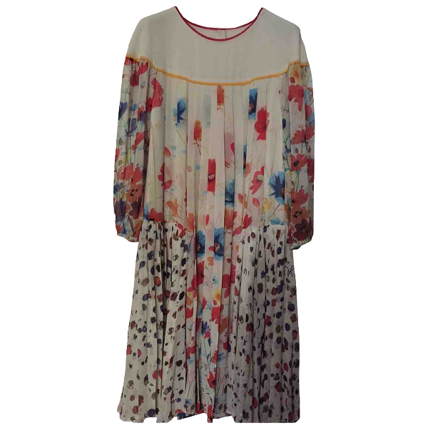 Wunderkind Multicolour Silk Dress