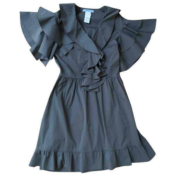 Blumarine Grey Cotton Dress