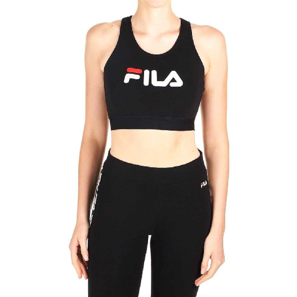 Fila Women's Black Cotton Top