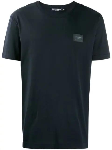 Dolce & Gabbana Logo T-shirt In Black