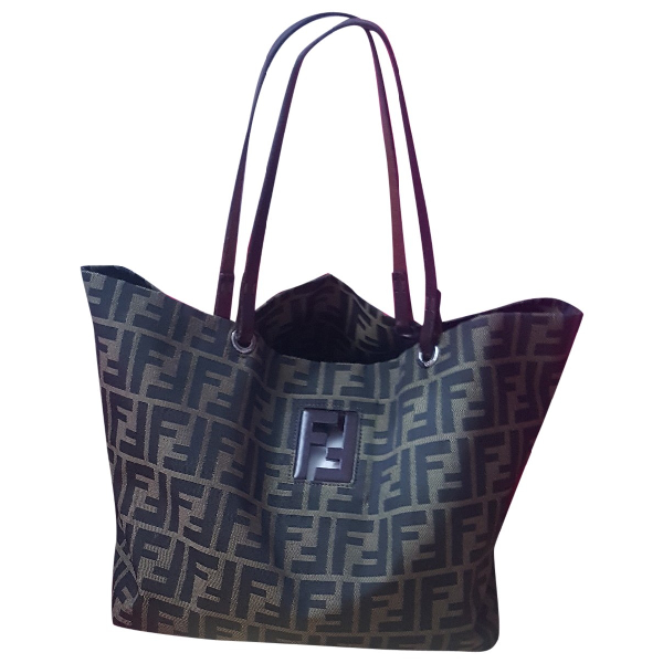 Fendi Roll Bag  Brown Handbag