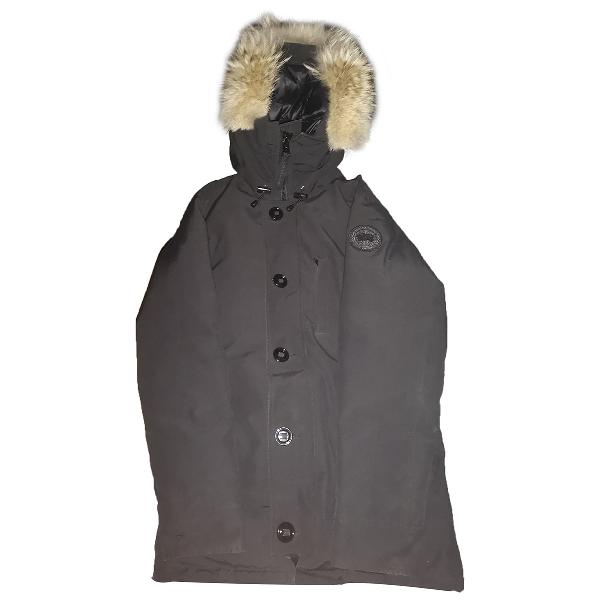 Canada Goose Black Fur Jacket