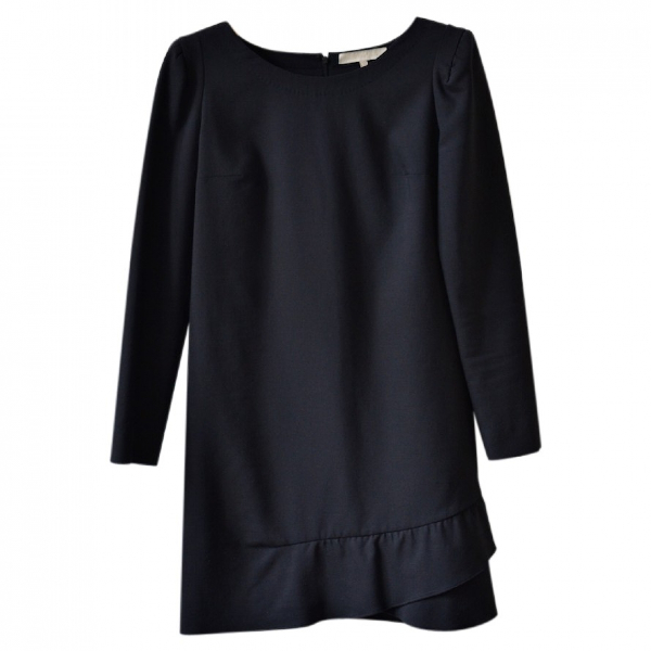 Vanessa Bruno Black Cotton Dress
