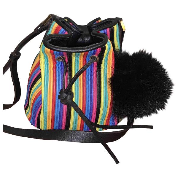 Les Petits Joueurs Multicolour Leather Handbag