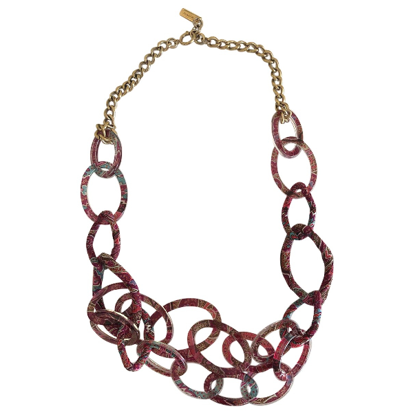 Etro Multicolour Cloth Necklace