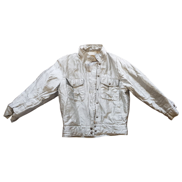 Christian Wijnants Silver Linen Jacket