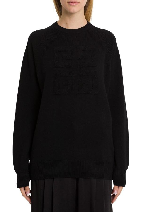Givenchy 4g Jumper In Black