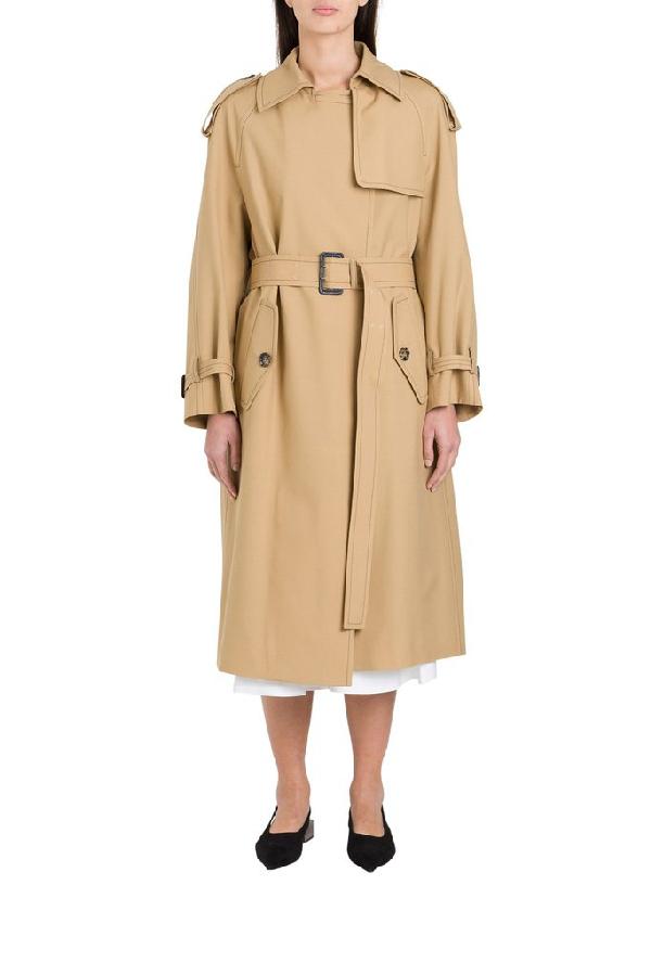 Marni Trench-coat In Beige