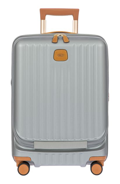 Bric's Capri 2.0 21-inch Expandable Rolling Carry-on In Silver