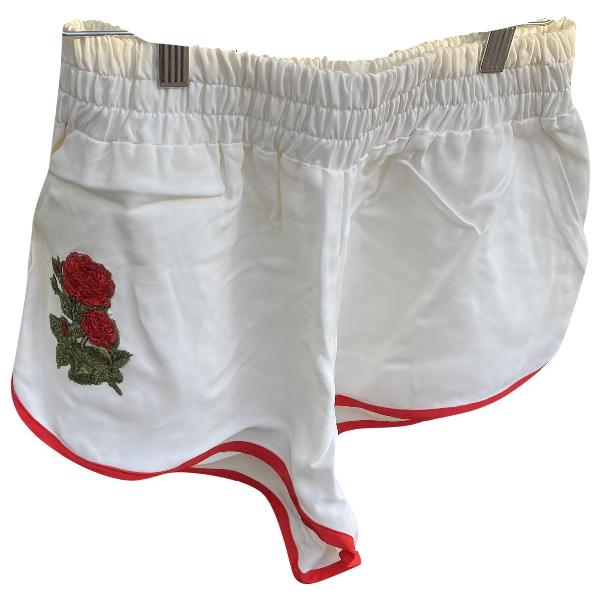 Off-white White Shorts
