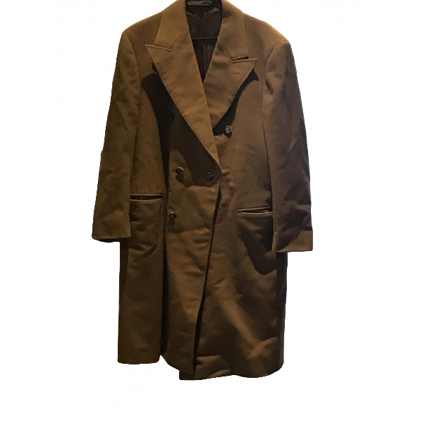 Richard Nicoll Brown Cashmere Coat