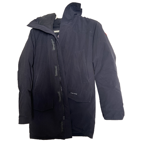 Canada Goose Expedition Black Cotton Coat