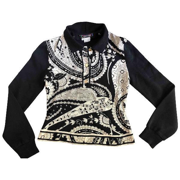 Leonard Black Wool Knitwear