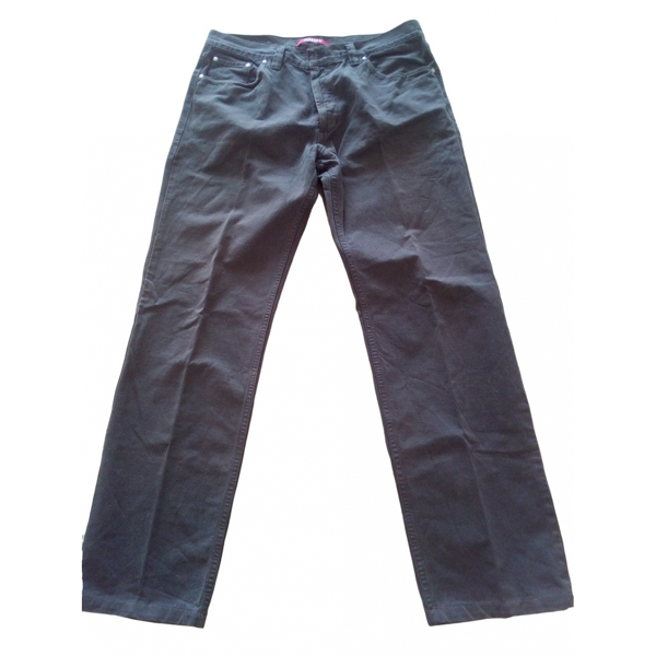 Pre-owned Carrera Grey Cotton Trousers