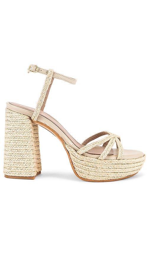 Alohas Carioca Platform Sandal In Natural