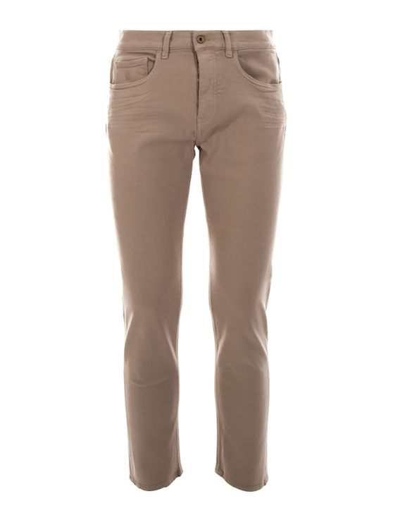Pence Rico S' Turtledove Jeans In Brown