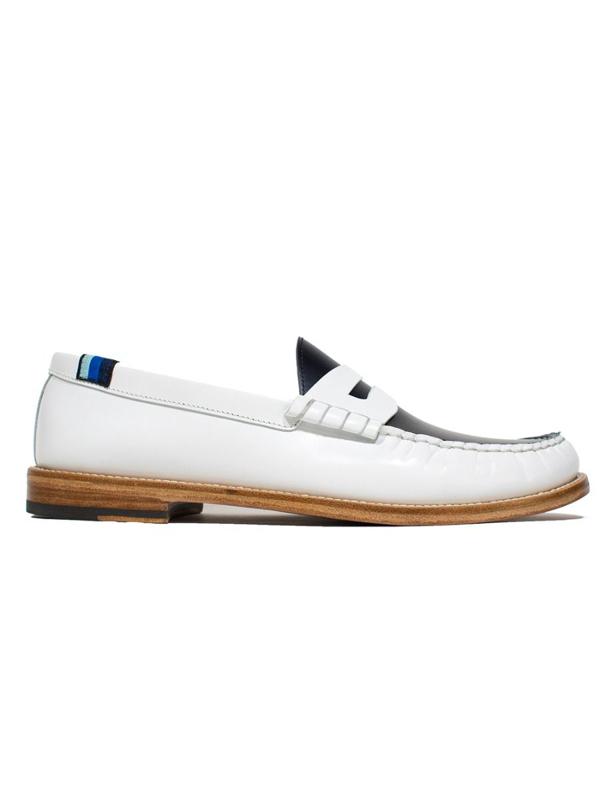 Blu Scarpa Cloud College Loafers In White