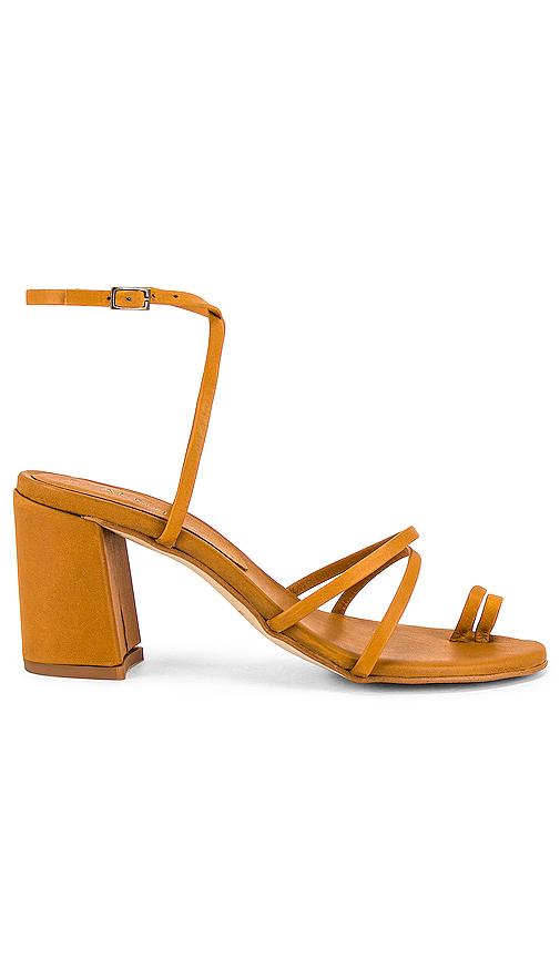 Alohas Mochi Strappy Sandal In Caramel