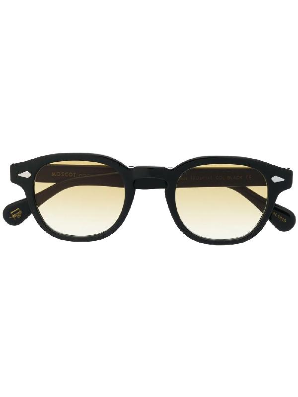 Moscot Lemtosh Square Frame Sunglasses In Black