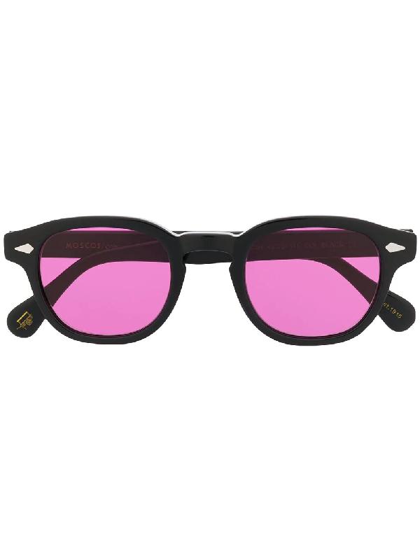 Moscot Lemtosh Unisex Sunglasses In Black