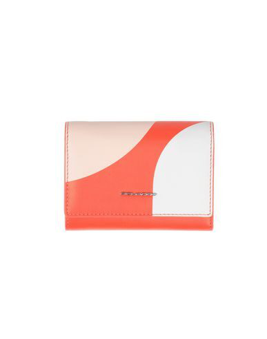 Piquadro Wallet In Orange