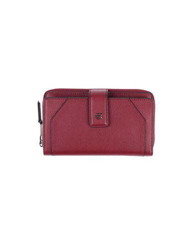 Piquadro Wallet In Maroon