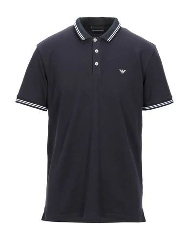 Emporio Armani Polo Shirt In Nero