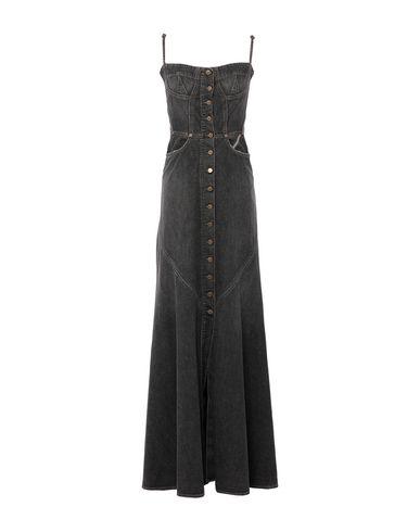 Jean Atelier Denim Dress In Black