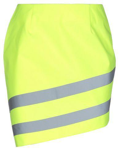 Gcds Mini Skirts In Yellow