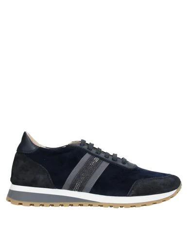 Eleventy Sneakers In Dark Blue