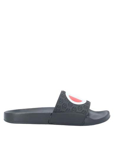 Champion Sandals In Black