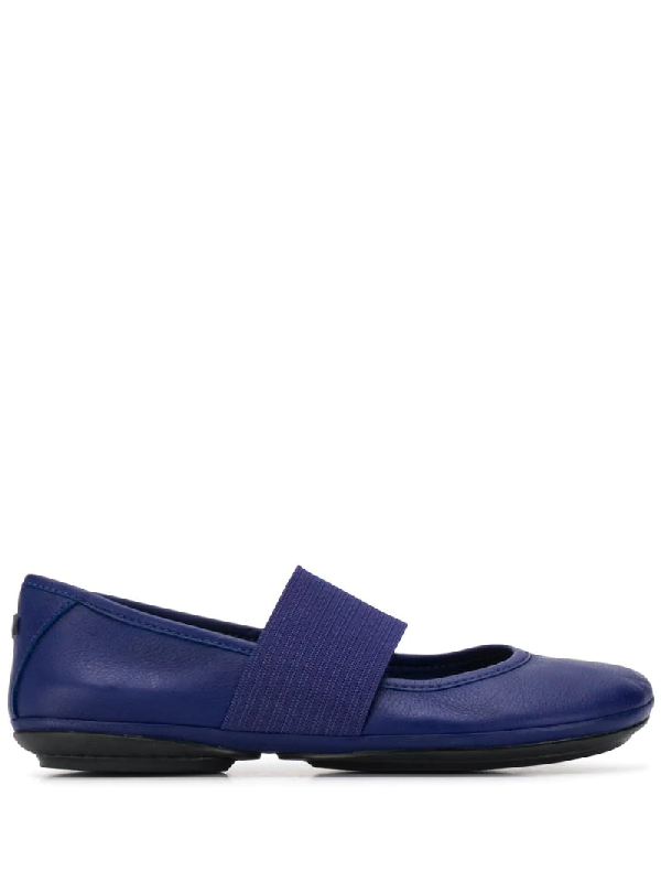 Camper Women's Right Nina Mary Jane Women's Shoes In Blue