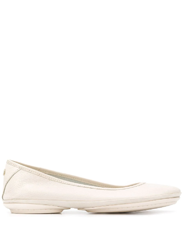 Camper Women's Right Nina Ballerina Women's Shoes In Neutrals