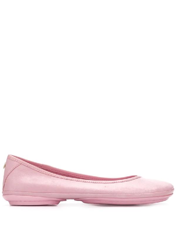 Camper Women's Right Nina Ballerina Women's Shoes In Pink