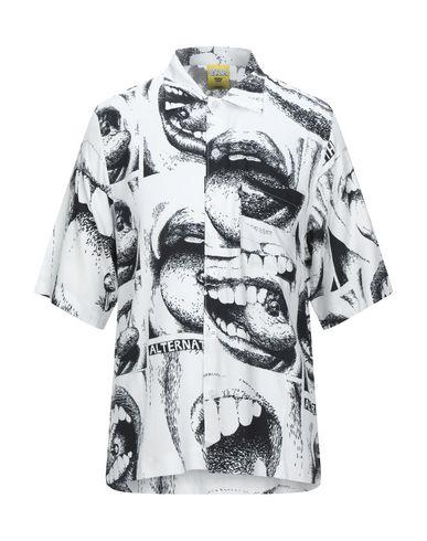 Polar Patterned Shirt In White