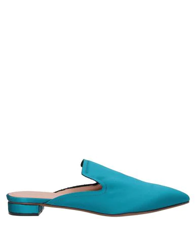 Liviana Conti Mules And Clogs In Turquoise