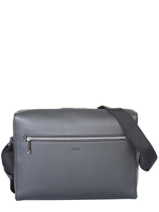 Hugo Boss Messenger Bag In Black