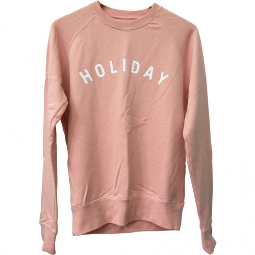 Pre-owned Holiday Pink Cotton Knitwear