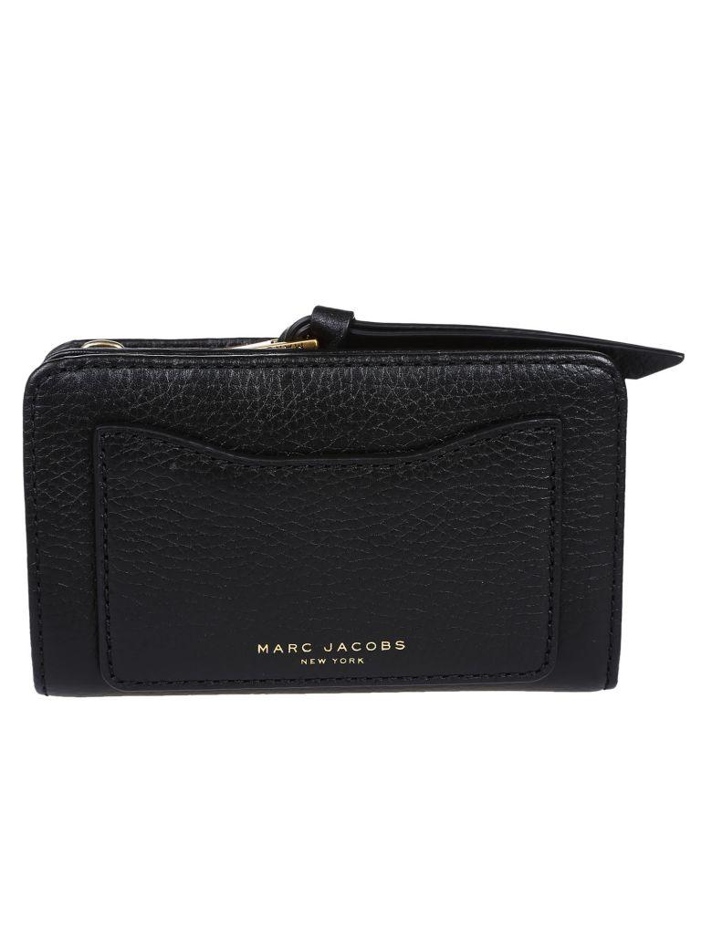 Marc Jacobs Recruit Leather Wallet In Black