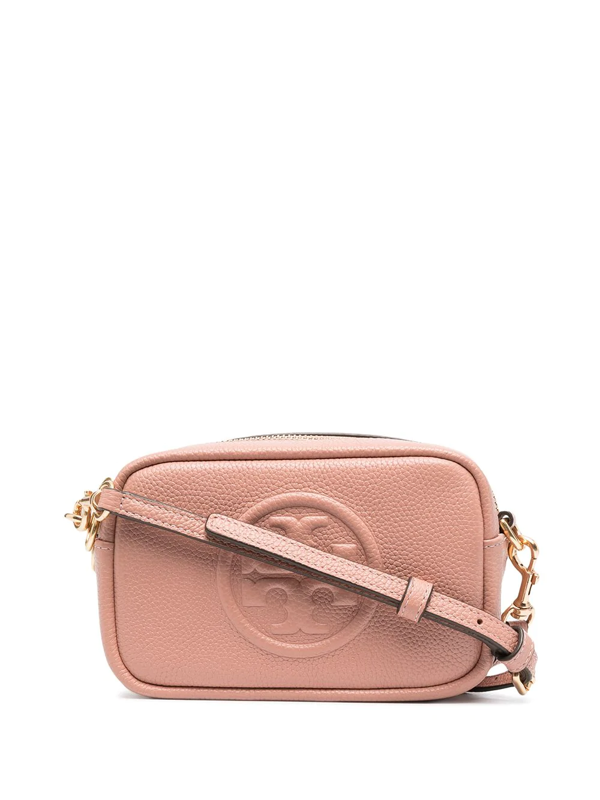 Tory Burch Women's Mini Perry Bombé Leather Camera Bag In Pink