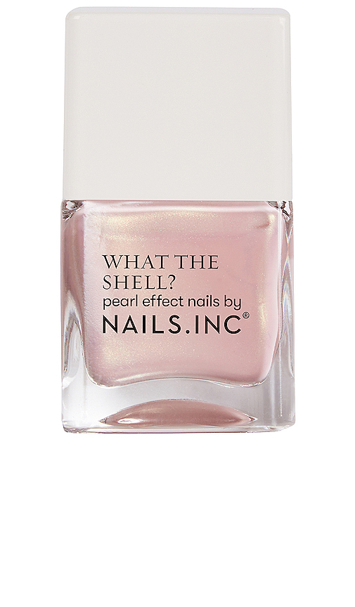 Nails.inc What The Shell? Pearl Effect Nail Polish In Shells Aloud