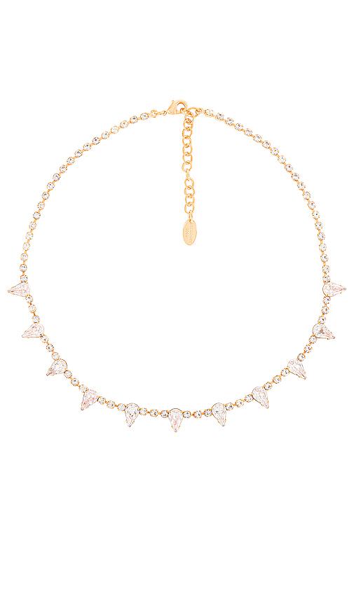 Elizabeth Cole Ailey Necklace In Crystal