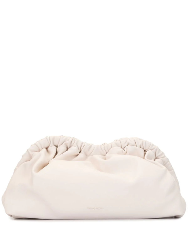 Mansur Gavriel Women's Mini Cloud Leather Clutch In Pink