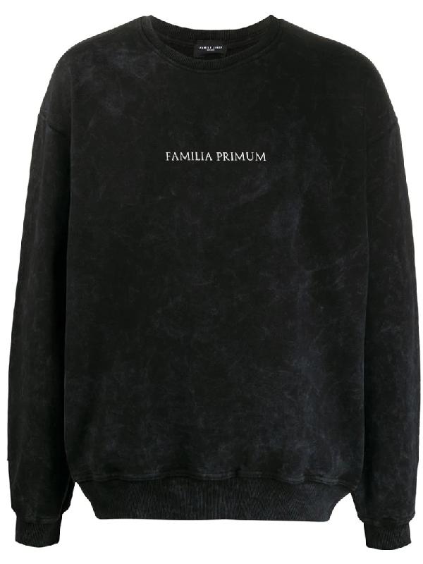 Family First Familia Primum Sweatshirt In Black