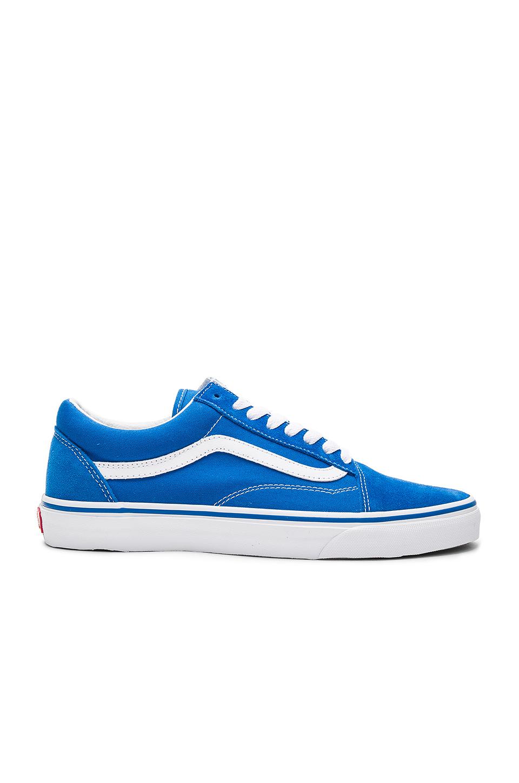 vans bleu old skool